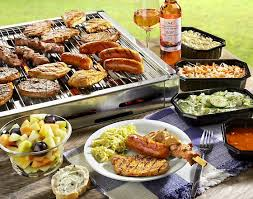 Barbecue en salades